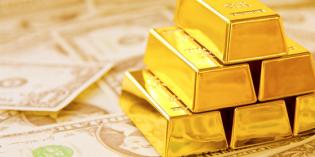 Giá vàng giảm mạnh xuống dưới 1.270 USD/oz