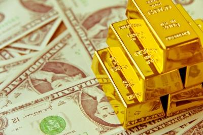 gold bar - dollar