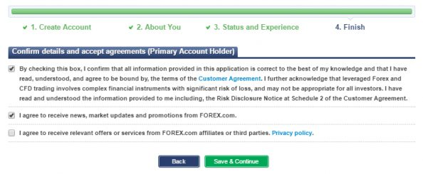 Open live account forex