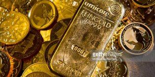 Giá vàng thế giới ngày 14/9 lấy lại đà tăng