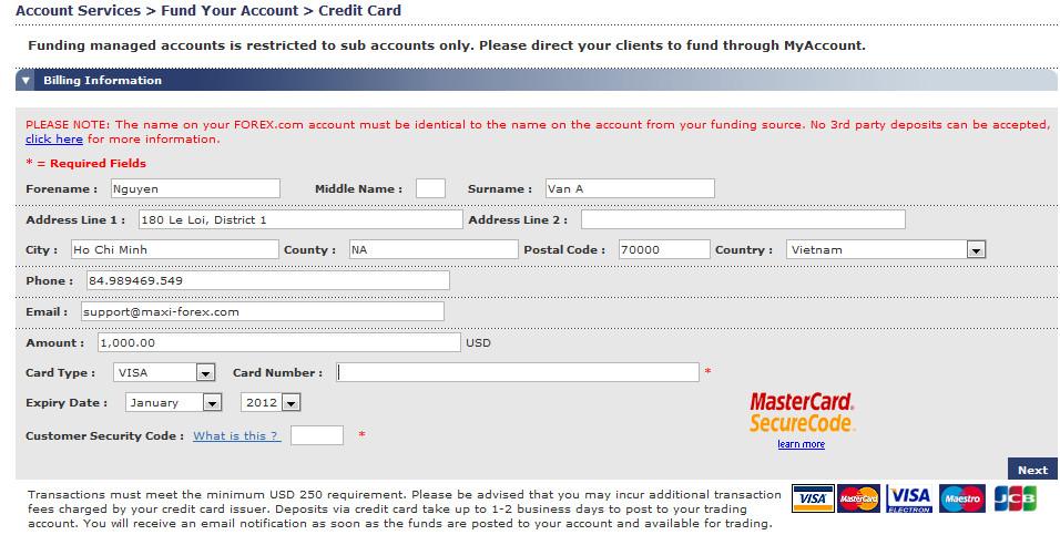 Forex.com/uk secure login